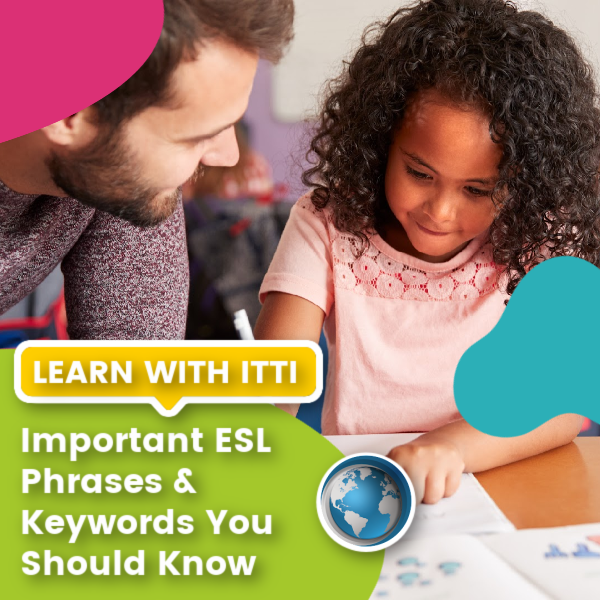 You are currently viewing Important ESL Phrases & Keywords You Should Know